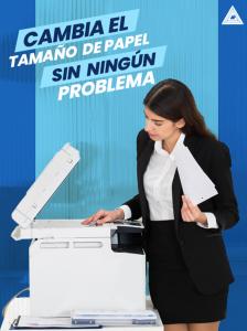 Cambiar la bandeja de papel